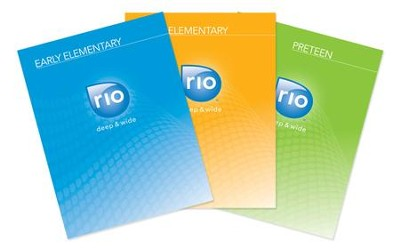 RIO DIGITAL KIT-Early Elem/Elem/Preteen-Spring Year 2   [Download] -     By: David C. Cook