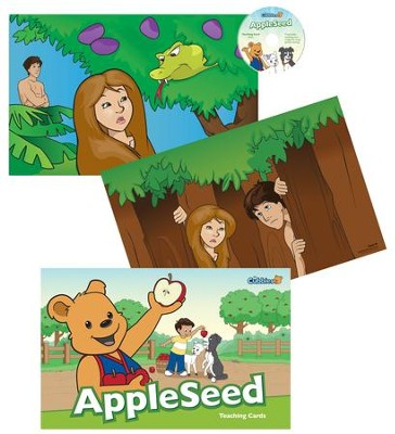 AppleSeed: Teaching Cards with CD-ROM  -