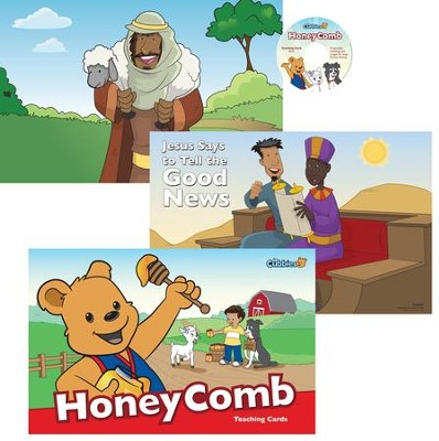 HoneyComb: Teaching Cards with CD-ROM  -