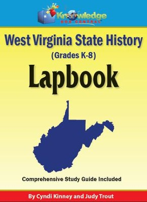 West Virginia State History Lapbook - PDF Download  [Download] -     By: Cyndi Kinney, Judy Trout