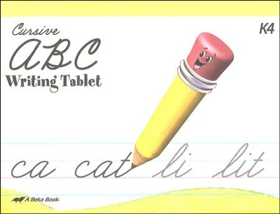 Cursive ABC Writing Tablet   -