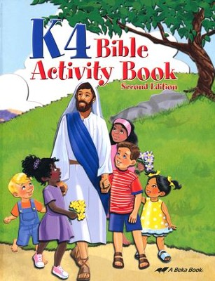 K4 Bible Activity Book   -