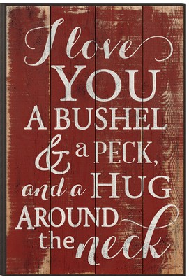 Bushel and Peck, Mounted Print  -