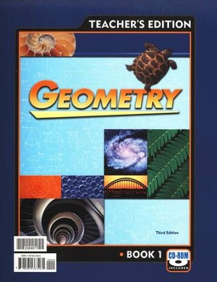 BJU Geometry Teacher's Guide Grade 10, Third Edition    -