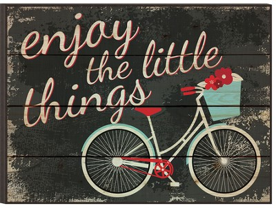Enjoy the Little Things, Mounted Print  -