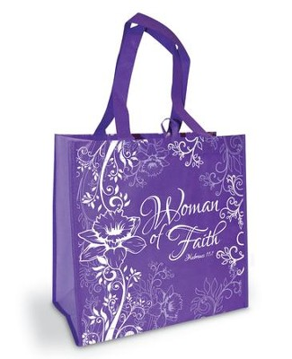 Woman of Faith Eco Tote  -