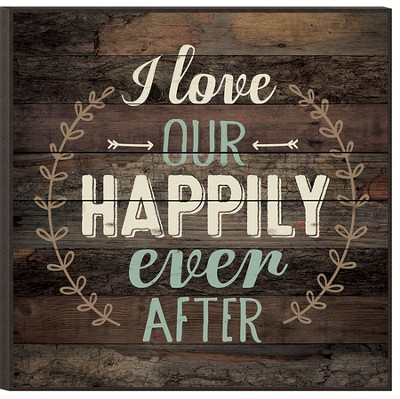 Happily Ever After, Mounted Print  -
