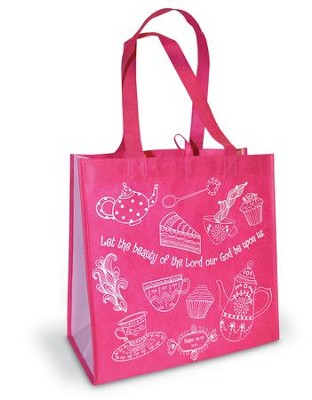 Let the Beauty Eco Tote  -