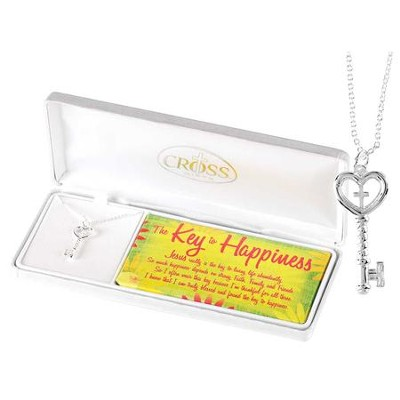 Key to Happiness Necklace  -
