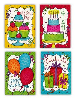 Birthday for Kids Cards, Box of 12  -
