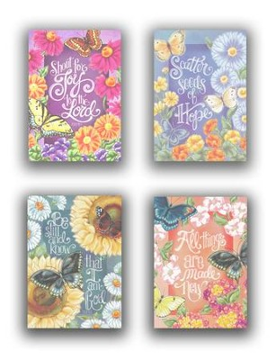 Encouragement, Butterfly Garden Cards, Box of 12  -