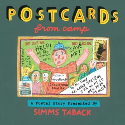 Postcards from Camp  -     By: Simms Taback
