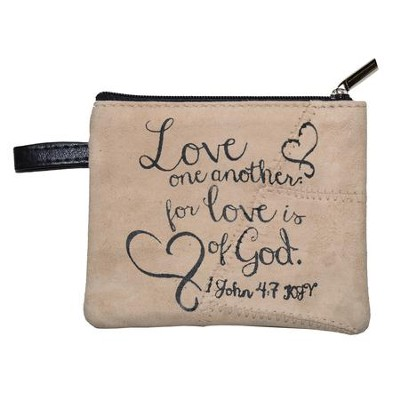 Love One Another Coin Purse  -