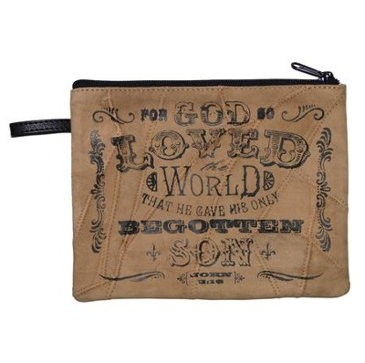 For God So Loved the World Cosmetic Bag  -