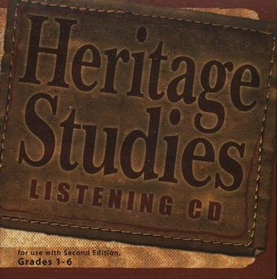 BJU Heritage Studies Listening Audio CD (Grades 1-6)   -
