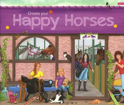 Happy Horses Sticker Book  -