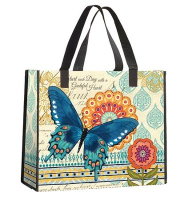 Start Each Day With a Grateful Heart Tote Bag  -