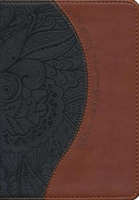 Call To Me and I Will Answer You Journal, Chocolate and Brown  -