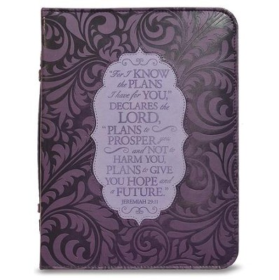 For I Know the Plans I Have For You Journal, Purple  -