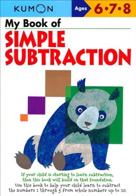 My Book of Simple Subtraction  -