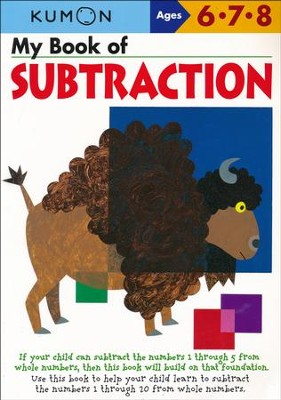 Kumon My Book of Subtraction, Ages 6-8    -