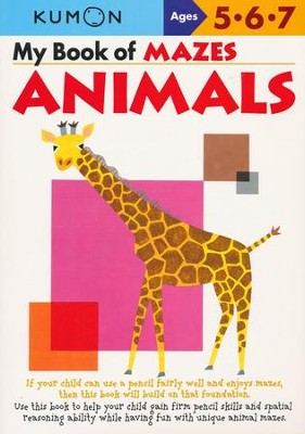 Kumon My Books of Mazes: Animals   -