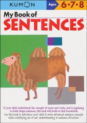 Kumon My Book of Sentences, Ages 6-8    -
