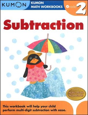 Kumon Subtraction, Grade 2    -