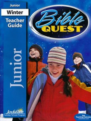 Bible Quest Junior Teacher Guide (grades 5-6; 2014)   -