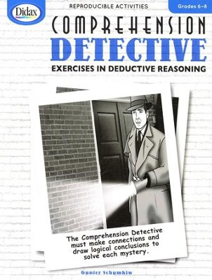 Comprehension Detective, Grades 6-8  -