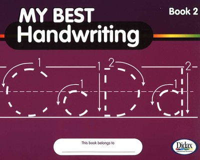 My Best Handwriting, Book 2, Grades K-3   -