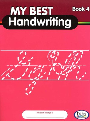 My Best Handwriting, Book 4, Grades K-3   -