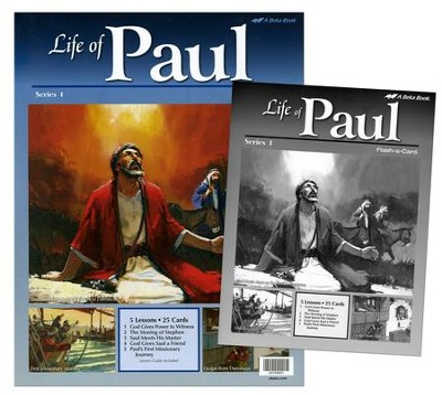 Abeka Life of Paul Series 1 Flash-a-Card Set   -