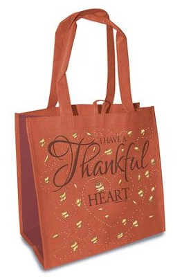 I Have a Thankful Heart, Eco Tote  -