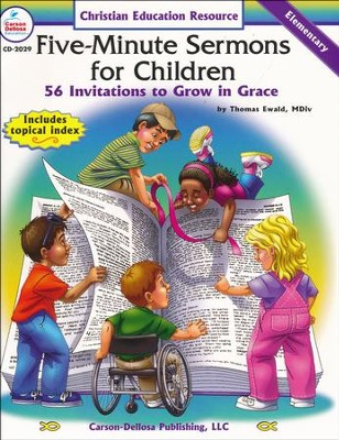 Five-Minute Sermons for Children Gr PK-5  -     By: Carson-Dellosa