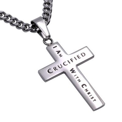 Crucified Truth Cross Necklace  -
