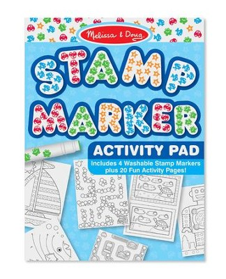 Stamp Marker Activity Pad, Blue  -