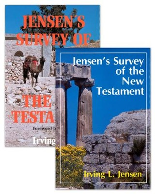 Jensen Survey-2 Volume Set-Old and New Testaments - eBook  -     By: Irving L. Jensen