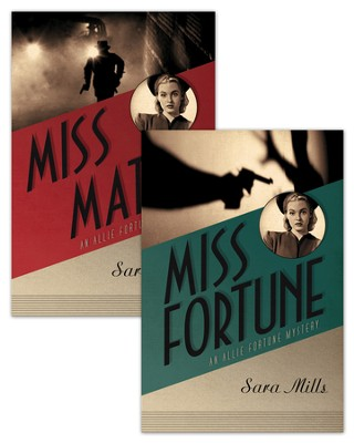 An Allie Fortune Mystery Set - eBook  -     By: Sara Mills