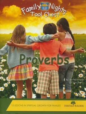 Family Nights Tool Chest: Proverbs   -     By: Jim Weidmann, Del Van Essen