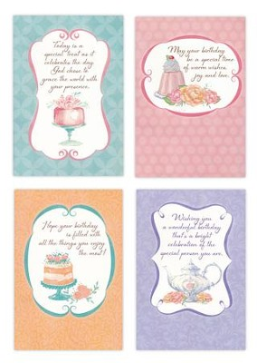 Happy Birthday, Sweet Celebrations Cards, Box of 12  -