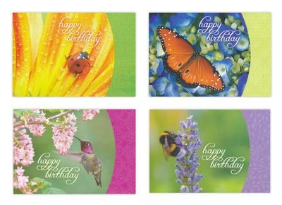 Happy Birthday, Nature's Friends Cards, Box of 12  -