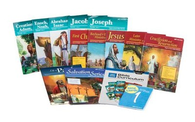 Abeka Grade 1 Homeschool Bible Kit  -