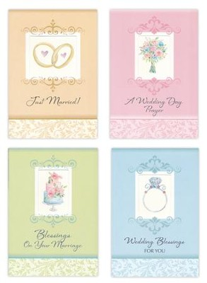 Wedding Blessings, A Day to Remember Cards, Box of 12  -