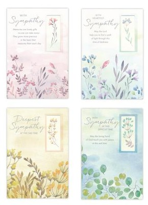 Sympathy, Father of Mercies Cards, Box of 12  -