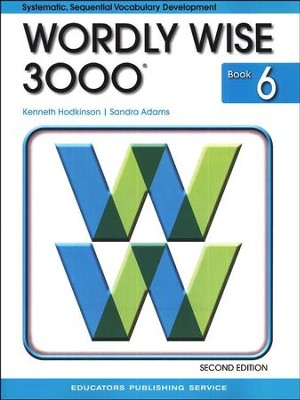 Wordly wise 3000 grade 6 2nd edition 9780838828243 wordly wise 3000 grade 6 2nd edition fandeluxe Image collections