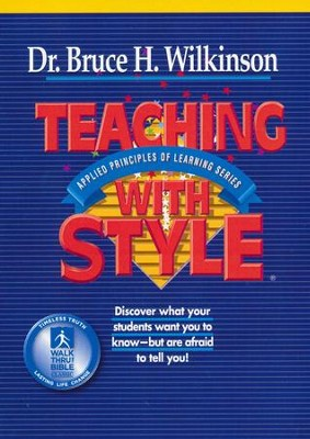 Teaching With Style, DVD Set   -     By: Bruce Wilkinson