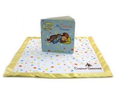 Curious Baby My Curious Dreamer Gift Set (Curious George book & blankie)  -     By: H.A. Rey