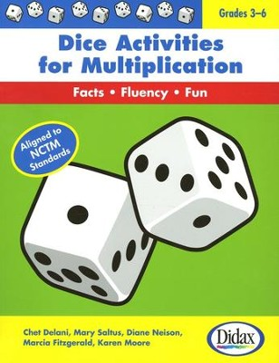 Dice Activities for Multiplication  -