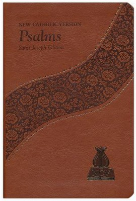 Psalms: New Catholic Version, Saint Joseph Edition, Brown Bonded Leather Brown  -